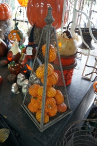 Mini Pumpkins Stacked